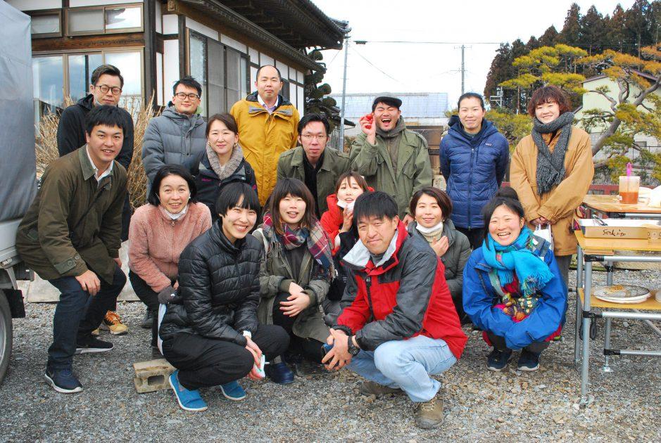 ふくしまバイヤー向け生産者ツアーを2月に開催!食のプロが交互交流!